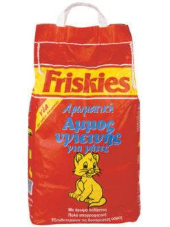 Άμμος Υγιεινής Αρωματική για Γάτες Friskies (5 Κg)
