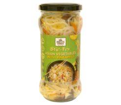 Ανάμικτα Ασιατικά Λαχανικά με Ανανά Oriental Express (330 g)