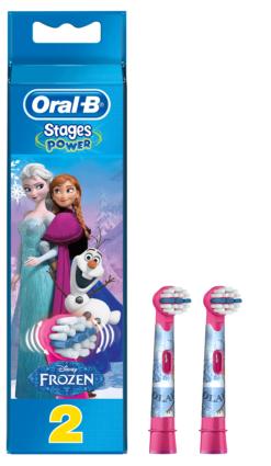 Ανταλλακτικά Ηλεκτρικής Οδοντόβουρτσας Frozen Oral B (2 τεμ)