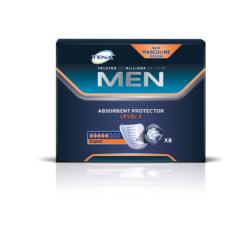Επιθέματα Ακράτειας για άνδρες Super Level 3 Tena (8 τεμ)