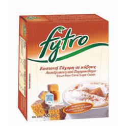 Ζάχαρη Ακατέργαστη σε κύβους Fytro (500 g)