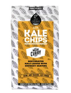 Κέιλ Τσιπς Indian Curry Rho Foods (40g)