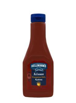 Κέτσαπ Με Θυμαρίσιο Μέλι Κρήτης Hellman's (340ml)