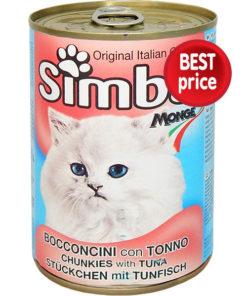 Κονσέρβα γάτας με Τόνο Simba (415g)