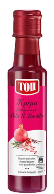 Ξύδι Κρέμα Βαλσάμικο με Ρόδι και Βανίλια Τοπ (200 ml)