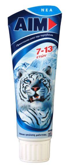 Οδοντόκρεμα Kids 7-13 ετών Aim (75 ml)