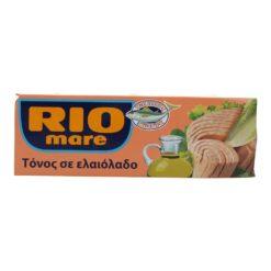 Τόνος Σε Ελαιόλαδο Rio Mare (3x160 g)