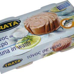 Τόνος σε Νερό Trata (2Χ160 g)