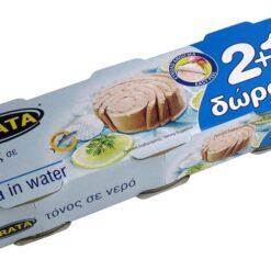 Τόνος σε Νερό Trata 2+1 Δώρο (3Χ80 g)