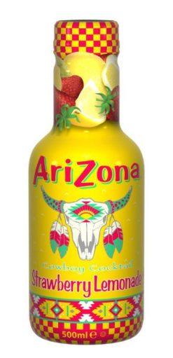 Χυμός Φράουλα με Λεμονάδα Arizona (500 ml)