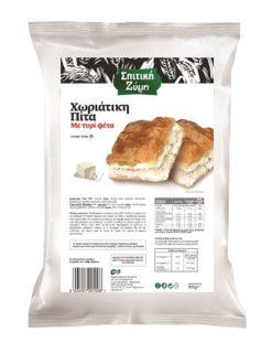 Χωριάτικη πίτα με τυρί Σπιτική Ζύμη (850 g)