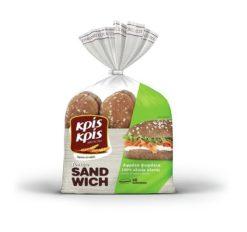 Ψωμάκια Ολικής Άλεσης για Σάντουιτς Κρις Κρις (480g)