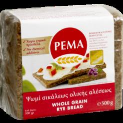 Ψωμί Ολικής Άλεσης σε φέτες PEMA (500 g)