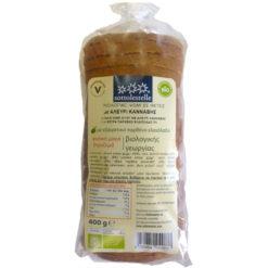 Ψωμί Σταρένιο με Αλεύρι Κάνναβης σε Φέτες Sottolestelle (400g)
