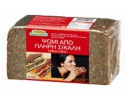 Ψωμί από Πλήρη Σίκαλη Vollkorn-Brot Mestemacher (500 g)