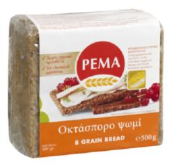 Ψωμί οκτάσπορο PEMA (500 g)