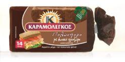Ψωμί του Τόστ Πολύσπορο Καραμολέγκος 14 φέτες (340 g)