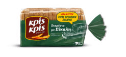Ψωμί του τοστ Σταρένιο με Σίκαλη Κρις Κρις (360 g)