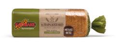 """Ψωμί του τόστ Ολικής Άλεσης Μεγάλες Φέτες """"Το Παραδοσιακό"""" Κατσέλης (900 g)"""