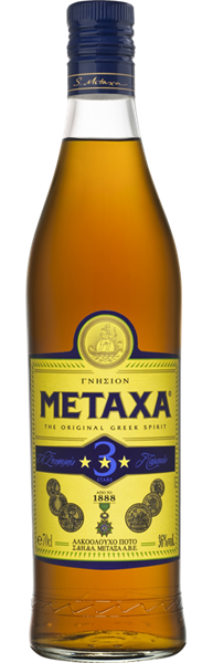 Brandy Metaxa 3* (700 ml)