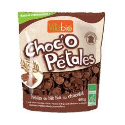 Choc' o Petales Βιολογικές Νιφάδες Σιταριού Ολικής με Σοκολάτα Vitabio (450g)
