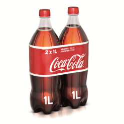 Coca-Cola 2 τεμ. (2x1 lt)