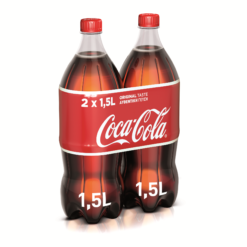 Coca-Cola 2 τεμ. (2x1.5 lt)