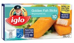 Fish Sticks Κατεψυγμένα 10τεμ.Captain Iglo (300 g)
