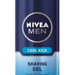 Gel Ξυρίσματος Cool Kick Nivea Men (200 ml)
