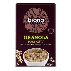 Granola Βρώμης Βιολογική Χωρίς Ζάχαρη Biona (375g)