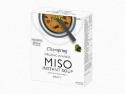 Miso Σούπα στιγμής με Χόρτα Θαλάσσης Clearspring (40γρ)