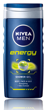 Shower Gel για Άνδρες Energy Nivea Men (500 ml)