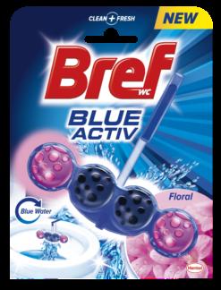 Wc Block Blue Activ Floral Bref (50g)