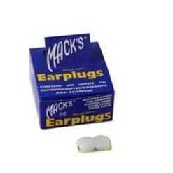 Ωτοασπίδες σιλικόνης Macks (1 ζευγάρι)