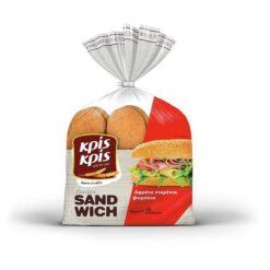 Ψωμάκια για Σάντουιτς Κρις Κρις (480g)