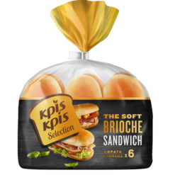 Ψωμάκια Brioche για Σάντουιτς Κρις Κρις Selection (342g)