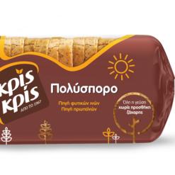 Ψωμί του Τοστ Πολύσπορο Κρις Κρις (360g)