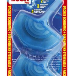 Block Τουαλέτας δύο θήκες Aqua Blue Duck (2x40 g)